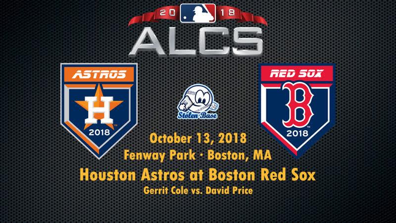 Постсизон 2018 Чемпионский раунд АЛ Бостон Ред Сокс Хьюстон Астрос 2 я игра серии