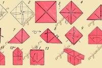 Коробочка ориагми.  Видео схема.  - Схемы оригами из бумаги.  Continue reading.