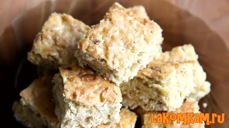 Печенье из геркулеса Полезный рецепт