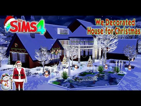 The Sims 4 We Decorated House for Christmas