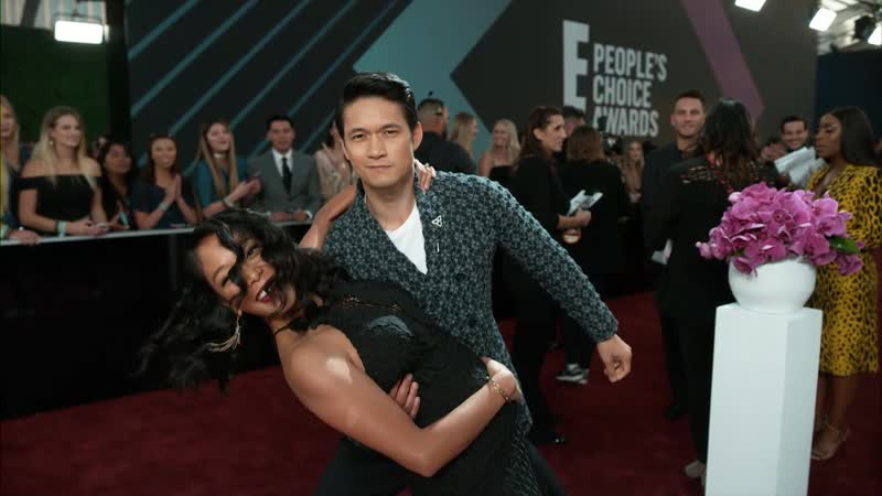 Harry Shum Jr. Shelby Rabara from E! News