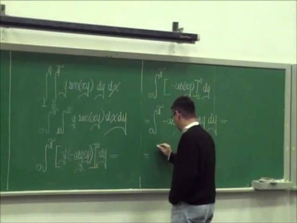 Curso UFMG - Cálculo III - Aula 01 - Integrais Iteradas em Região Retangular e Volume