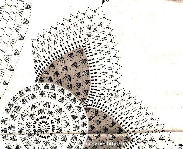 Подушки-звезды, связанные