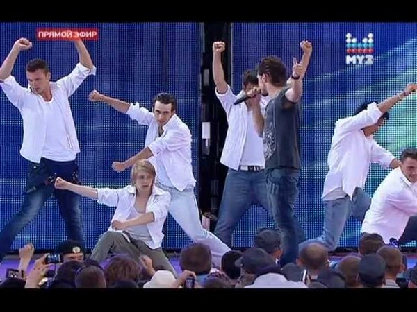 Дима Билан - Я просто люблю тебя (Россия молодая)