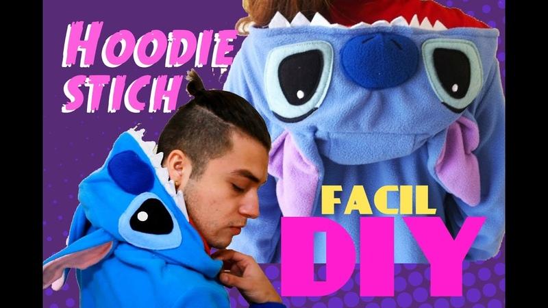 DIY Hoodie STICH ♥ Fácil