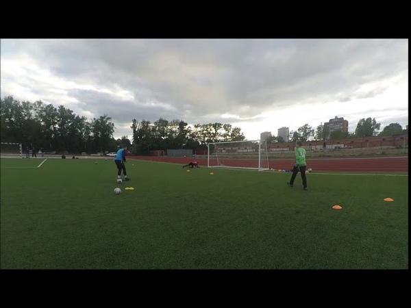 Sibir Novosibirsk Goalkeepers U-12 (Diving Push Ups High Balls)