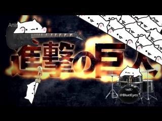 anime.webm Bongo Cat, Attack on Titan