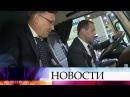 Премьер министр Дмитрий Медведев посетил выставку отечественной техники вПодмосковье