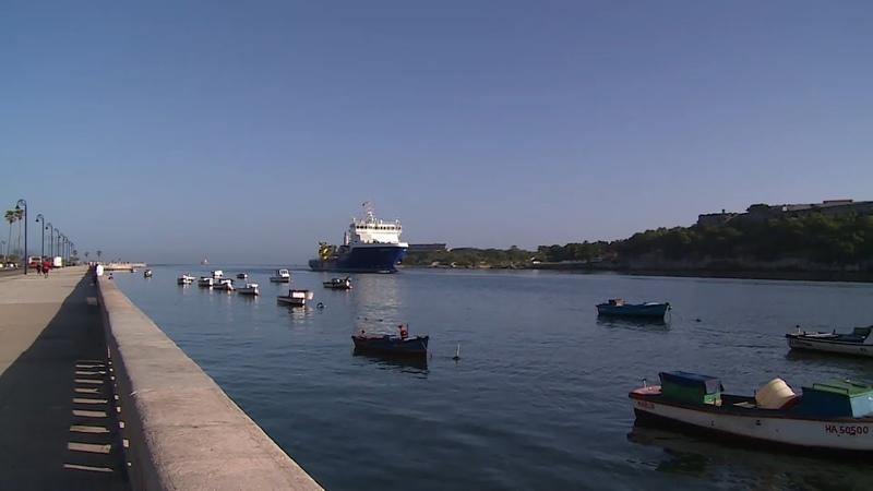 Отряд российских кораблей зашел в порт Гаваны в рамках официального визита