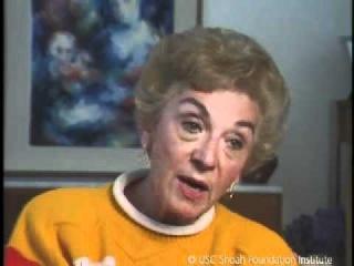 Jewish Survivor Celina Biniaz Testimony