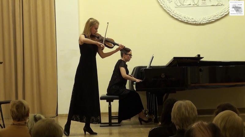 Ф.Шуберт Соната для арпеджионе и фортепиано a-moll D.821 С. Угушева альт А. Милованова