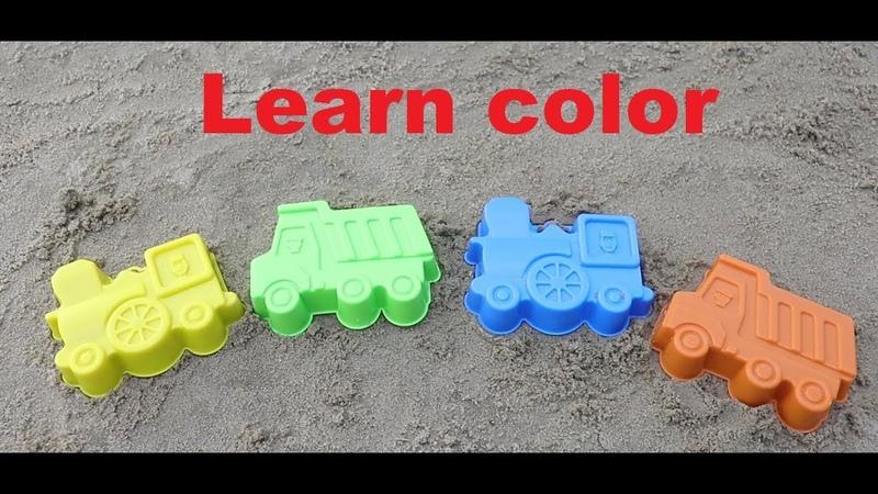 Learn Colors for Children Sand Molds samosval Finger Family Song