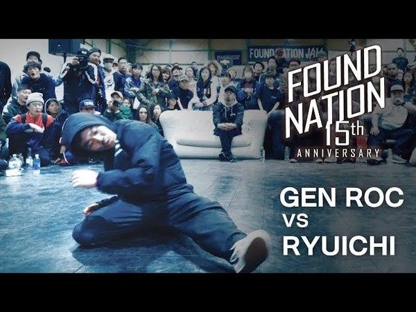 GEN ROC vs RYUICHI/ Semi Final Battle - FNJAM2018 x BIS【FLAVA JAPAN】