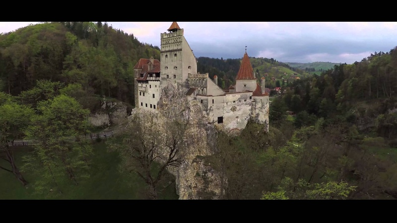 Filmare aeriana Castelul Bran / Bran Castle aerial footage