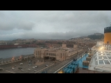 Отплытие из Неаполя под мелодию Андреа Бочелли. Май 2018