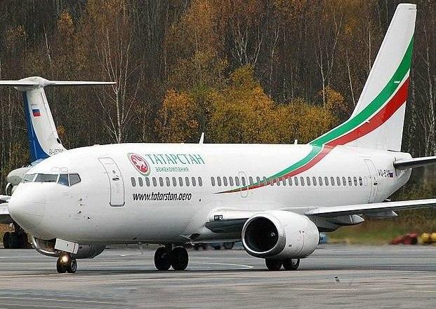 Рейс авиакомпании «Татарстан» в Ростов-на-Дону задержан в Казани