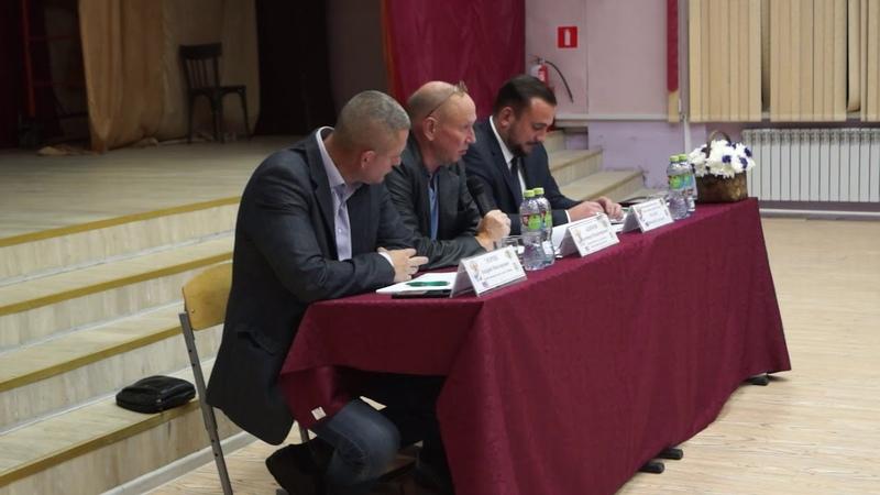 Встреча исполняющего обязанности главы управ района Перово с жителями 17 октября 2018 года