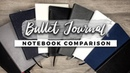 Which Notebook is the Best for Bullet Journaling! STATIONERY SHOWDOWN