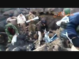 Трофеи сирийской армии в Аль-Сафа
