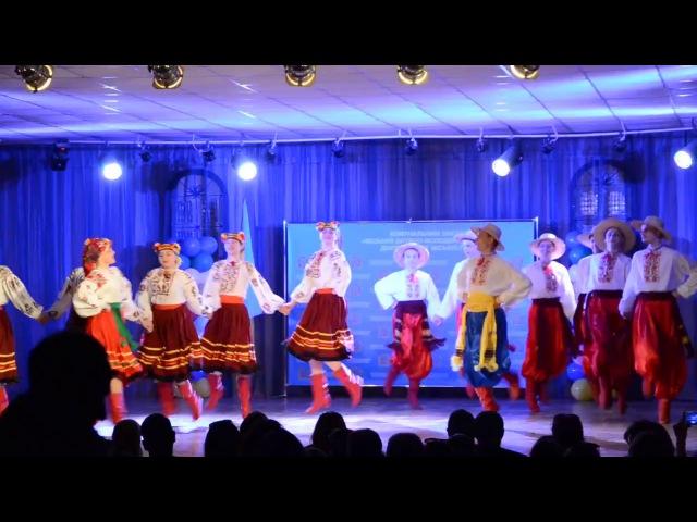 СЛОБОЖАНСКАЯ ПОЛЬКА - на Гала-концерте фестиваля Дивоклуб - 2017 - ансамбль РАДУГА...