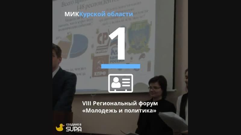 10 самых интересных событий 2018 года МИК Курской область