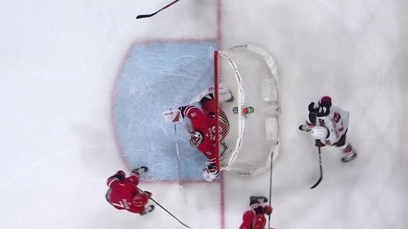 Самый странный автогол в истории хоккея