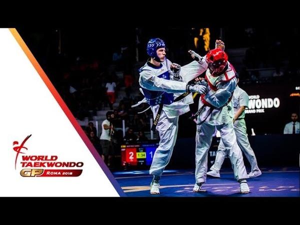 Roma 2018 World Taekwondo GP-Final [Male -80Kg] KHRAMTCOV, MAKSIM(RUS) Vs MARTINEZ GARCIA, RAUL(ESP)