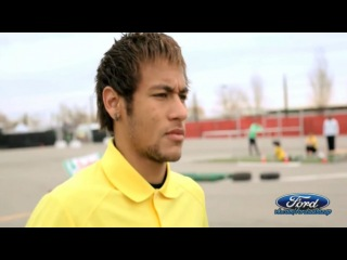 Neymar Jr. vs Ken Block Ford Castrol Super goals & freestyle @ford.uefa #Like