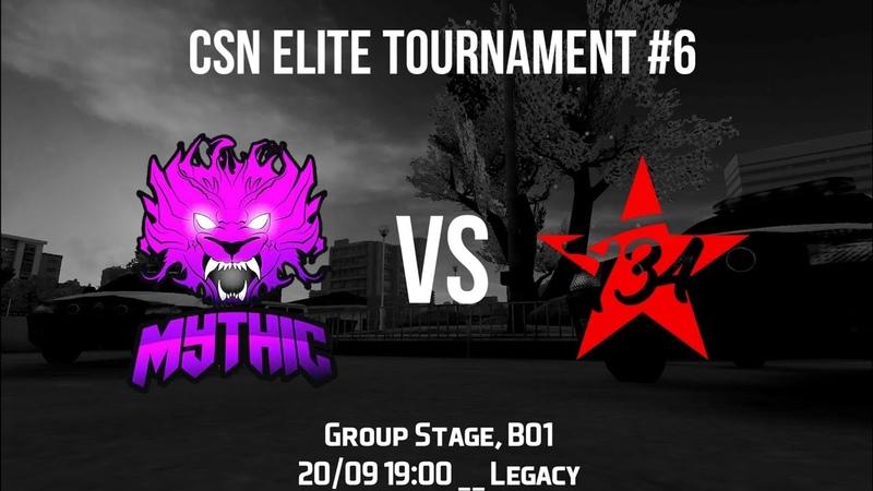 CSN ELITE TOUNAMENT 6 | MyT vs T 34 | Group Stage