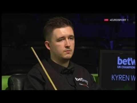 UK Championship 2018. K.Wilson-Yan Bingtao. (03.12.2018)