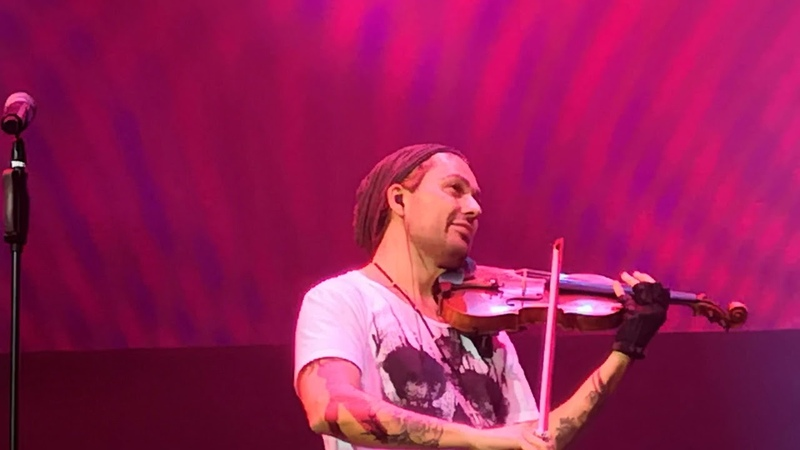 David Garrett Saint Petersburg❤️💜💚💙💛🧡 06 10 2018 5