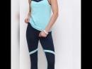Женский костюм из итальянского бифлекса для занятий различными видами спорта