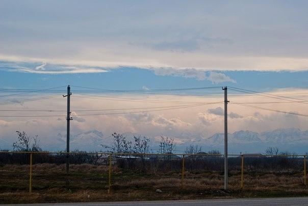 небо, Кавказский хребет