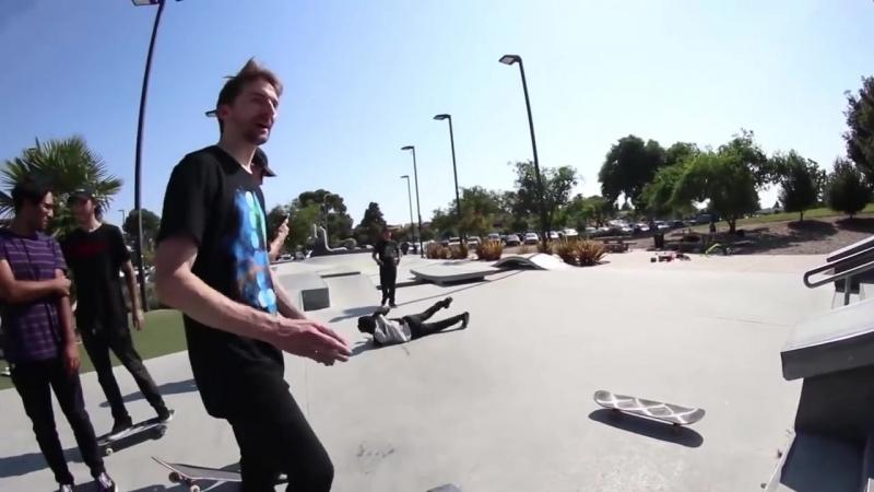 [Braille Skateboarding Russia] Худшие доска и кроссовки в парке!