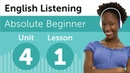 English Listening Comprehension Finding What You Want at a Department Store in America