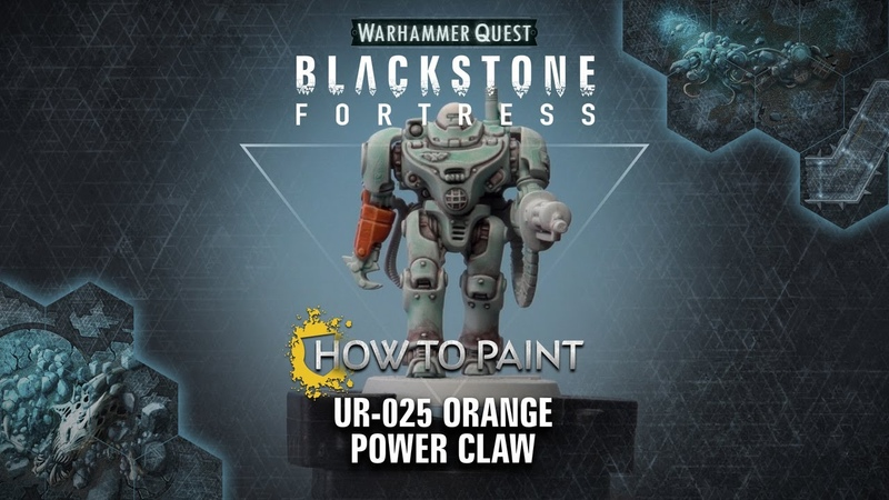 How to Paint: UR-025 Orange Power Claw