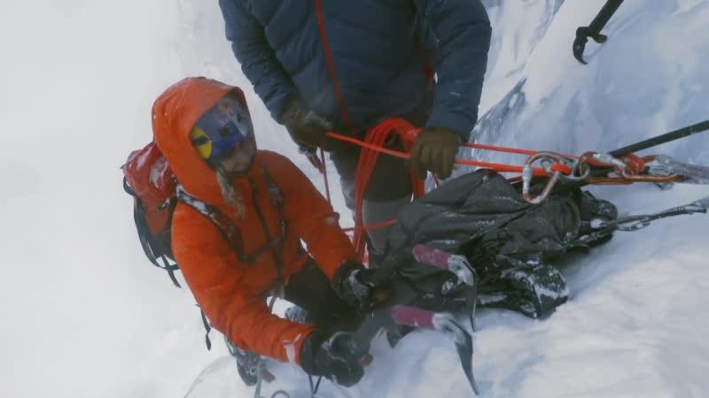 Ледовый Альпинизм - Pro Rock Climber Sasha DiGiulian Goes Ice Climbing - Горы Снег Зима