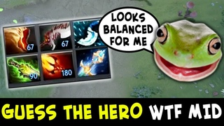 Guess the hero — WTF mid Wagamama edition