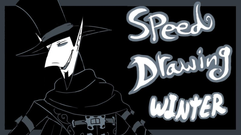 Speed Draw- A Vampire For All Seasons- Winter