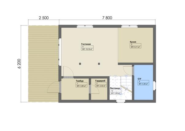 Взяли в работу небольшой дом площадью 97м2. для молодой семьи, на этот раз в Пушкине👌🏻 #ультрасип_пушкин