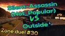 Silent-Assassin (Not_Popular) vs Outside | Tanki Online | Zone duel | 30