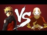 [AniMIX] Anime Rap Battle | Аниме Рэп Битва - Наруто VS Аватар: Повелитель стихий