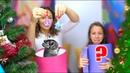 КРАСАВИЦА и ЧУДОВИЩЕ Чья Елка Страшнее Mistery Box Switch Up Challenge Вики Шоу