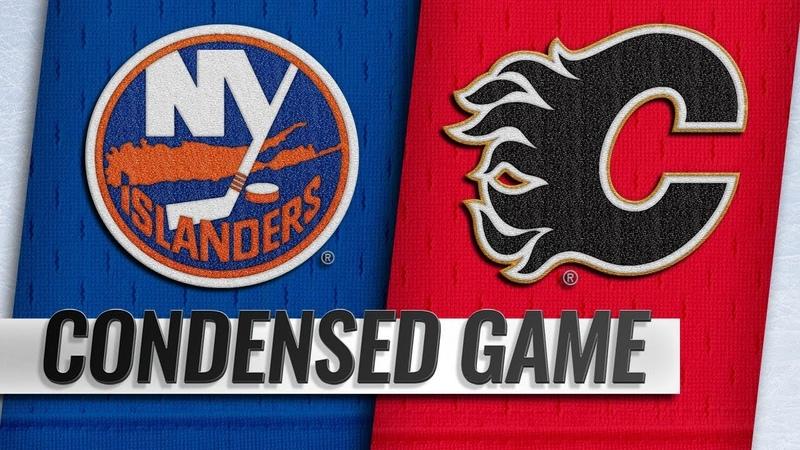 022019 Condensed Game Islanders @ Flames