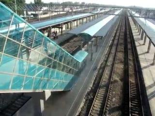 Прикол на ЖД-вокзале в Донецке