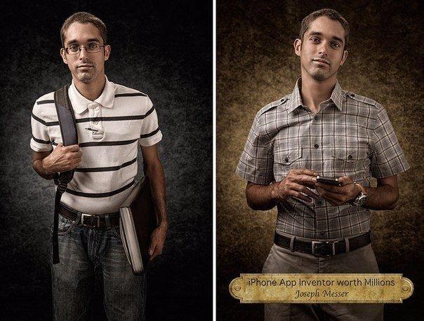 Который из них настоящий Портреты, разбивающие стереотипы