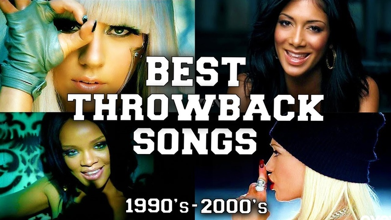 Top 100 Best Throwback Songs of the 1990's 2000's