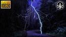 Сильный шум дождя с грозой 6 часов Звуки природы для сна БЕЗ МУЗЫКИ