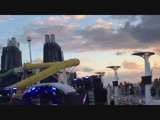 ZHU b2b Tchami - Live @ Holy Ship! (Pool Deck Stage)