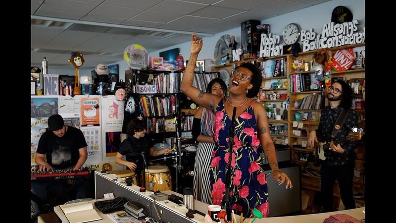 Liniker e os Caramelows: NPR Music Tiny Desk Concert